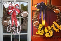 Door Decor & Wreaths / by Amy Howard