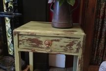 My attempt of shabby chic