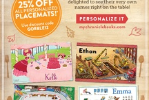 Name tags placemats