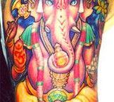 Ganesha / Ganesh Tattoos and ganesh inspirational art