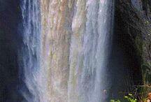 CASCADAS / Las cascadas como fenómeno natural y fuente no sólo de agua , sino también de belleza.