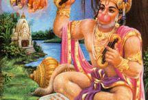 Hanuman / Hindu deity Hanuman