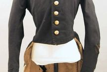 Clothing from the War of 1812 / A collection of clothing from the early 1800s
