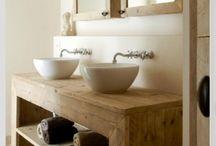 lavabo wood