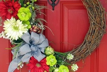 Wreath / by Kimberly Hymes