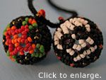 BEADED BEADS, WIRE AND LEATHER / by MALITZIN HDZ