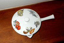 K&A Krautheim Keramik milk pan
