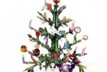 Décoration de Noël en carton / Que diriez vous d'un sapin sans épines ? Découvrez toutes les décorations de Noël en carton, à décorer en famille pour une déco originale!