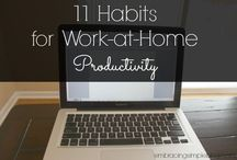 Home Office / Do you work from home? Have plans to create a side business? Just want an inspirational home office to work from? Here, you'll find home office ideas, designs for decor, and organizational tips to get your productivity going.