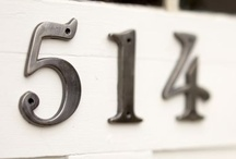 Decorations ♡ Numbers / Home decor with numbers / by Cinzia Corbetta