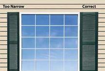 Window Shutter Width
