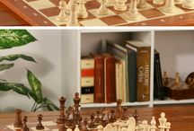 Wooden Chess Sets & Boards / Chess boards and sets made of wood.  Some of them handcrafted right hear in the USA! #madeinusa