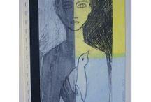 DESSINS / série de dessins à la base de mon travail artistique sur les mythologies