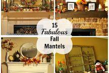 Mantel Decorating / Holiday and season mantel decorating ideas. / by Amanda - Mommity