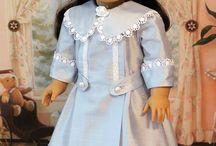 modern doll dress