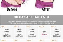 Wyzwanie dla mięśni brzucha