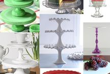 Cake plates / by Judy McMichael