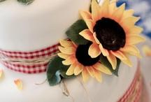 sunflower cakes
