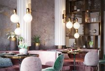 Restaurants & Café Interiors ▶