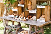 Creative ways to Display your wedding buffet