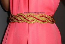 cinturones decordon de cedas
