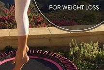 Rebounding exercises for weight loss / Rebounders, mini tramps, and trampolines are great for weight loss. Lose weight and build muscle with these workouts.