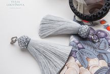 Fashion jewelry by Yulia Logvinova