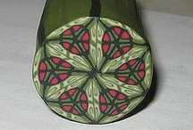 kaledoscope polymer clay