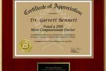 Dr. Bennett's Awards & Accolades / Throughout the last few years, Dr. Bennett has been recognized by several groups and magazines as one of New York City's best doctors.   He was most recently awarded the 2013 Patient's Choice Award for Most Compassionate Doctor and was also named a 2014 New York Super Doctor.   Check out some of his other achievements below. Dr. Bennett would like to thank the panels who honored him, as well as the patients who give him the opportunity to provide excellent service each day.