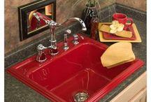 Kitchen remodel idea's. / by Rebecca Bridgeman