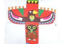 Indiańskie / North American Indians / Inspiracje wzorami, strojem i sztuką ludową Indian Ameryki Północnej / Inspired by the patterns, costumes and North American Indians folk.