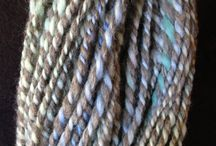 Handspun Alpaca Yarns / From alpaca to finished product we hand process our fleece from shearing through sorting, washing, dying, carding, and spinning.