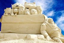 Sand Sculptures / by Chocolate Brownie