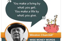 Financial Quotes / They said it best! Wise money words from those who know. / by WESTconsin Credit Union