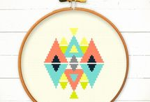 Cross Stitch + Embroidery / by Laura Swanson