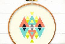 Cross Stitch + Embroidery