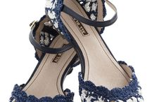 Crochê / Sapatos e sandálias em croche