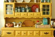 retro kitchen rustickredenc