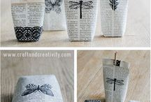 DIY: old books