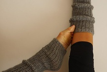knitted legwarmer and sock patterns
