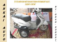 Side Wheel Attachment (TVS Wego)
