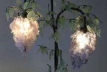 Art deco bedside lamp