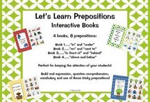 Basic Concepts / Resources for teaching basic concepts such as prepositions and following directions
