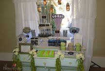 Lacey & Dustin's Wedding / Candy Buffet