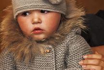 Детское Вязанье пальто