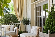 Sunrooms, Porches, Patios, and Decks / Outdoor living around the house