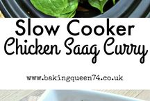 Slow cooker dishes