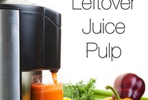Juice pulp leftovers