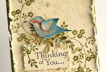 Cards Vintage / Shabby Chic