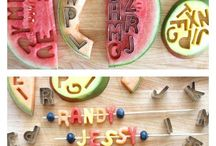 Food and fruit deco